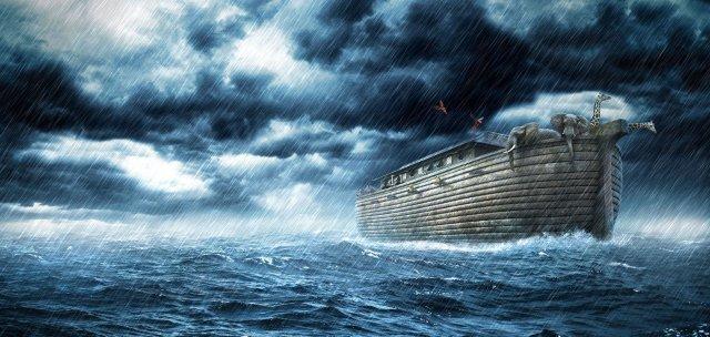 Os Dias de Noé voltaram: Novamente os homens nada sabem, até o dia em que...