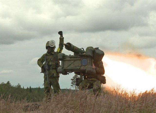 Saab anuncia venda de mísseis para o Exército usar na Copa do Mundo.