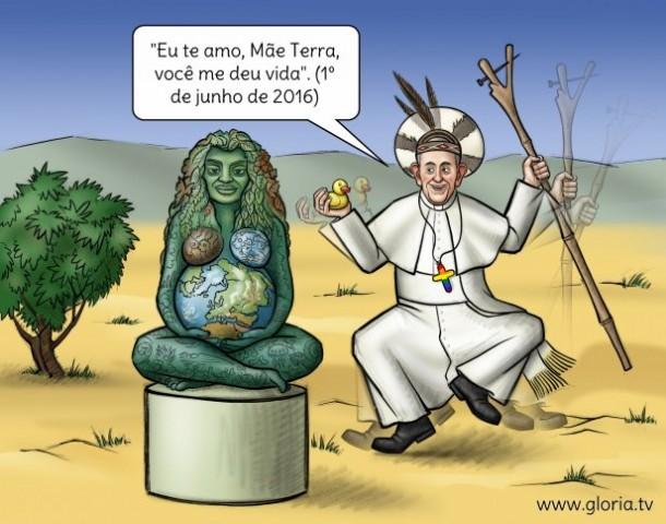 Francisco ainda no ano 2016 já tinha dado mostras que elevaria Pachama (Mãe Terra), ao título de