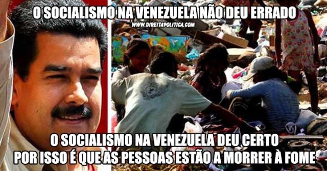 Como era a Venezuela antes da crise? Hoje 96% da população vive em situação de pobreza, tudo por conta de um governo socialista/comunista