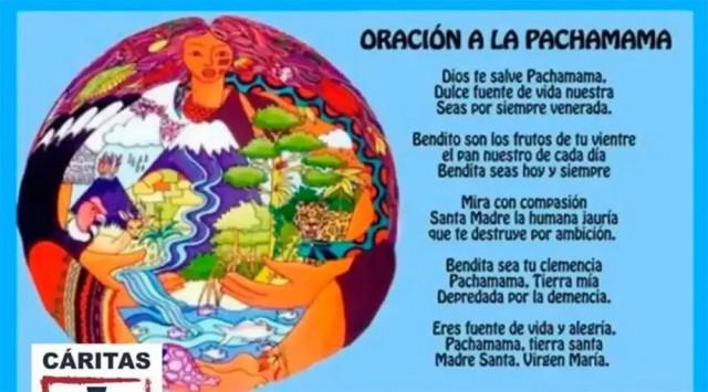 Diocese argentina zombando de Nossa Senhora com a
