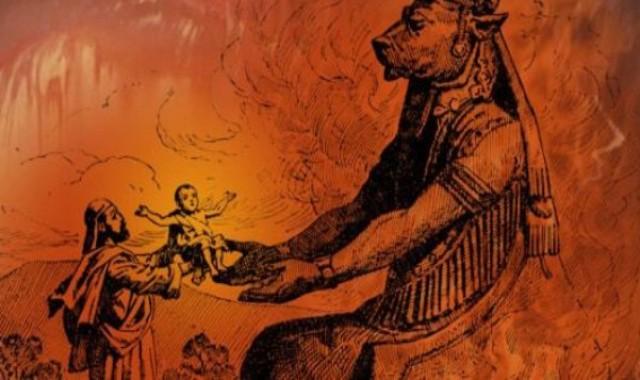 Propaganda satanista chama as mulheres grávidas para ritual satânico
