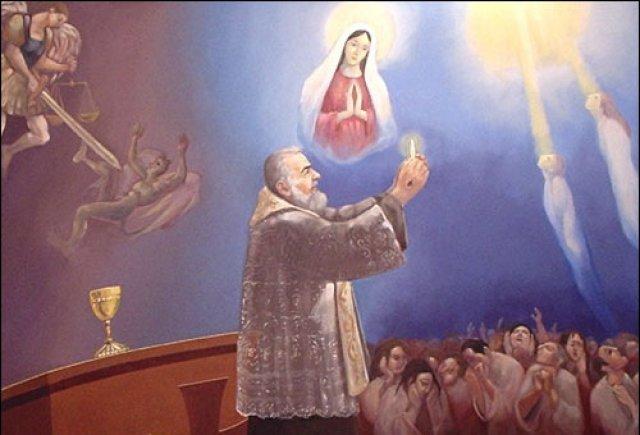 23 de Setembro - Padre Pio de Pietrelcina: Nunca diga que você está sozinho na batalha contra os seus inimigos