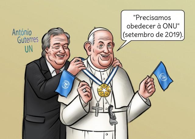 Francisco vai se dirigir à ONU: Ele não falará sobre religião (muito menos de Cristo)