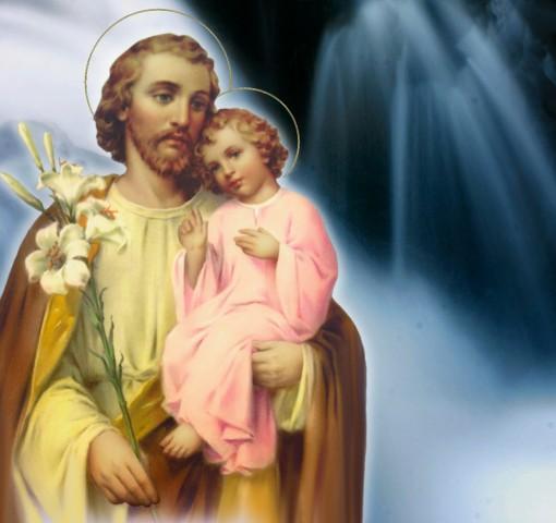 Glorioso São José: Esposo da Virgem Maria, Protetor da Sagrada Família, Escolhido por Deus, para ser o pai adotivo do Menino Jesus