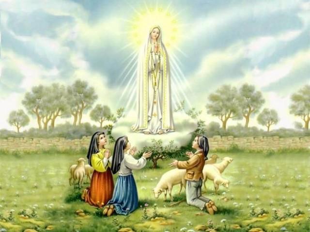 A Aparição de Nossa Senhora de Fátima no dia 19 de Agosto
