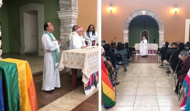 A rebelião final contra Deus continua: Bispo mexicano celebra missa gay em ação de graças pelo aniversário de organização homossexualista
