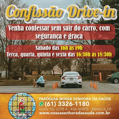 Sinal dos Tempos: Padre em Brasília atende confissão de forma