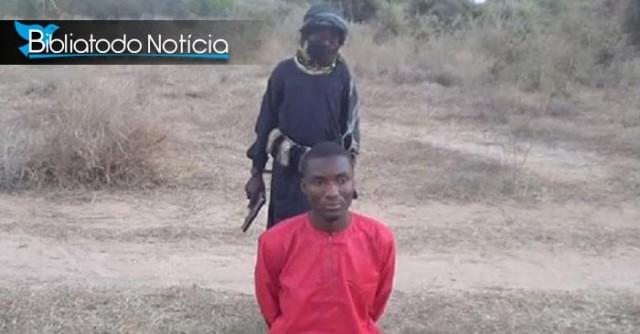 Sinal dos Tempos: Menino executa cristão em novo vídeo do Estado Islâmico
