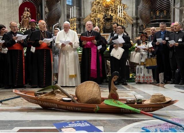 Lembrando a Carta Aberta aos Bispos e Padres da Bielorrússia: O Espírito de Apostasia domina o Papa Francisco